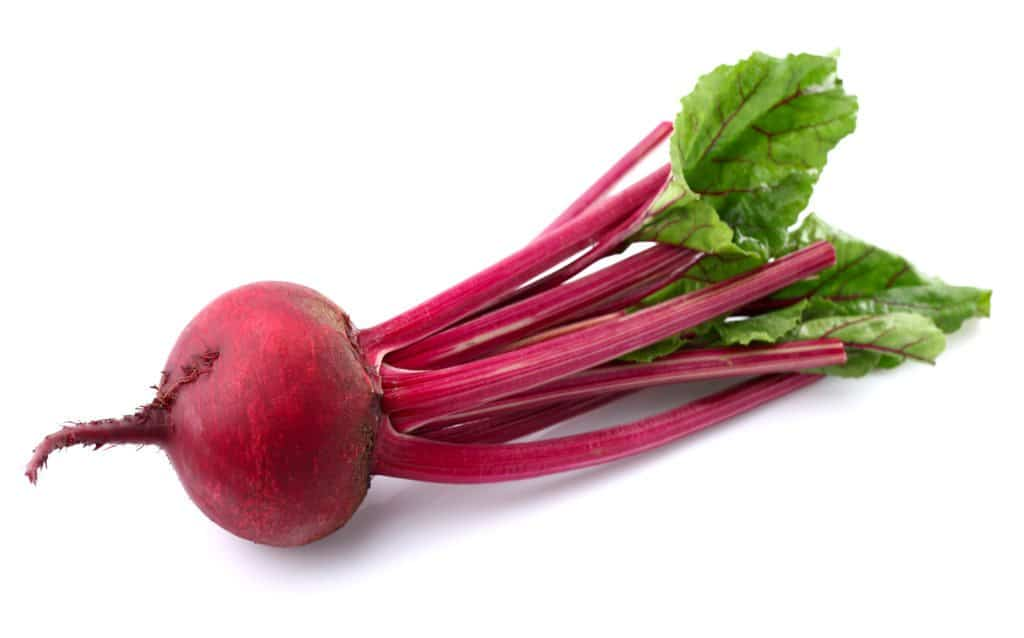 Fresh beet in closeup